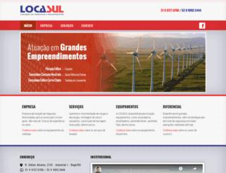 locasulguindastes.com.br screenshot