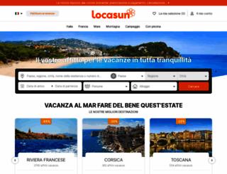locasun.it screenshot
