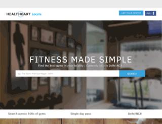 locate.healthkart.com screenshot