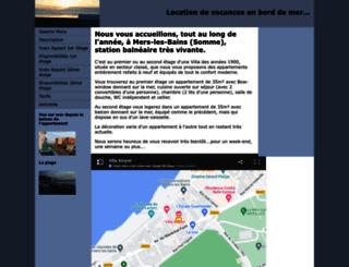 location-a-mers.com screenshot