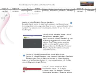 location-de-voitures-marrakech.com screenshot