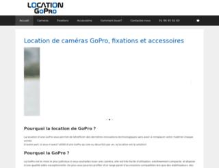 location-gopro.com screenshot