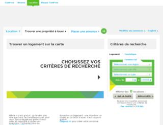 location.comfree.com screenshot