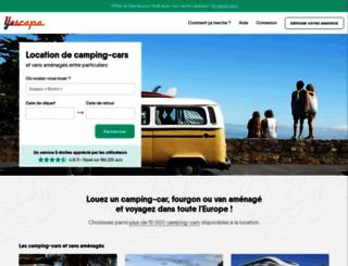 locationcampingcardeparticulier.com screenshot
