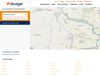 locations.budget.com screenshot