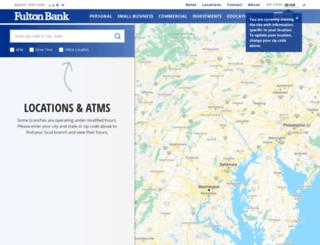 locations.fult.com screenshot