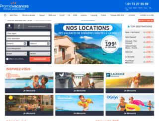 locations.promovacances.com screenshot
