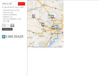 locator.raleighusa.com screenshot