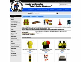 locatorsandsupplies.com screenshot