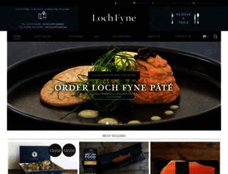 lochfyne.com screenshot
