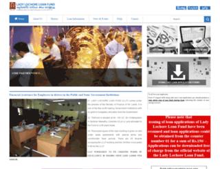 lochorefund.gov.lk screenshot