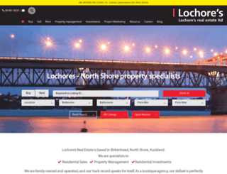lochores.co.nz screenshot