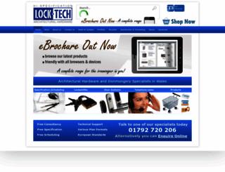 lock-tech.co.uk screenshot