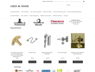 lockandhinge.com screenshot