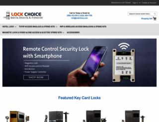 lockchoice.com screenshot