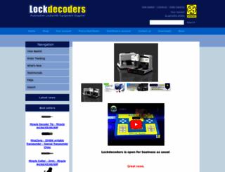 lockdecoders.com screenshot