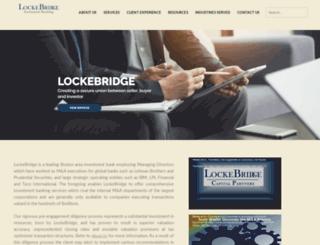 lockebridge.com screenshot
