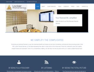 lockerfinancial.com screenshot