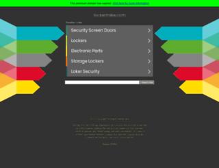 lockermike.com screenshot