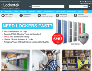 lockertek.co.uk screenshot