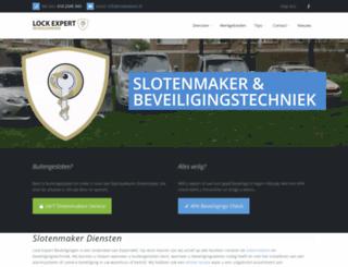 lockexpert.nl screenshot