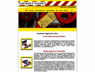 lockouttagout.be screenshot