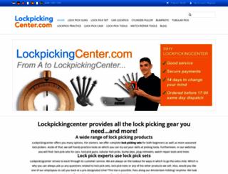 lockpickingstore.com screenshot