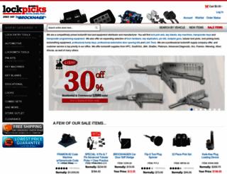 lockpicks.com screenshot