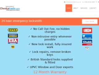 lockproblems.co.uk screenshot