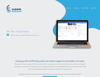 locksidesoftware.com screenshot