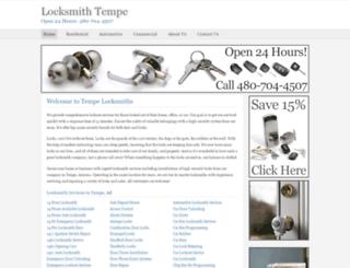 locksmith--tempe.com screenshot