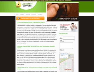 locksmith-arden-arcade.com screenshot