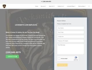 locksmithlion.com screenshot