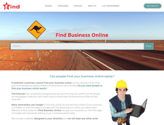 locksmithmelton.findbusinessonline.com.au screenshot