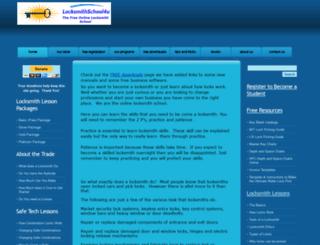 locksmithschool4u.com screenshot