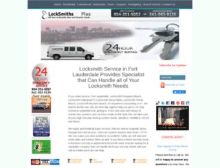 locksmithsplus.com screenshot