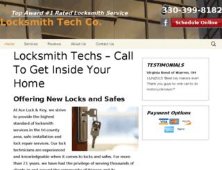 locksmithtechs.com screenshot