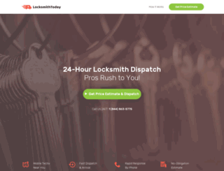 locksmithtoday.com screenshot
