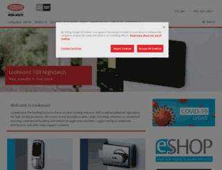 lockweb.com.au screenshot