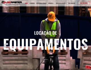 locmastermaquinas.com.br screenshot