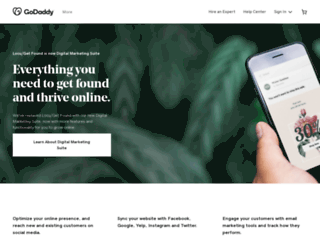 locu.godaddy.com screenshot