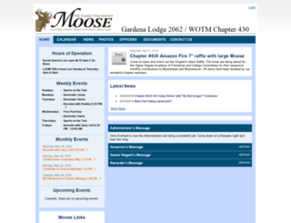 lodge2062.moosepages.org screenshot