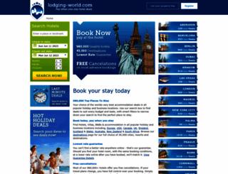 lodging-world.com screenshot