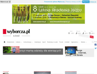 lodz.gazeta.pl screenshot