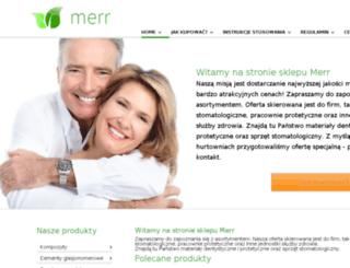lodz.merr.com.pl screenshot