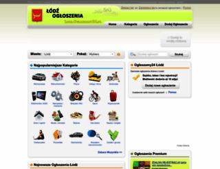 lodz.oglaszamy24.pl screenshot