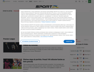 lodz.sport.pl screenshot