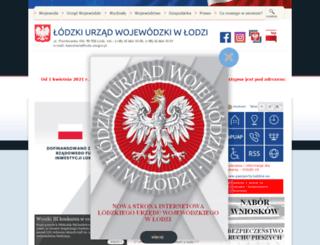 lodzkie.eu screenshot