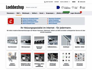loebbeshop.de screenshot