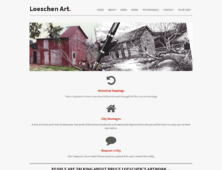 loeschenart.com screenshot